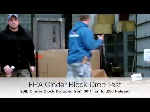Drop Test - Palgard TG Abrasion Resistant Polycarbonate