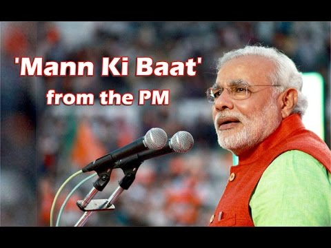 N9tv news Prime Minister Narendra Modi on Radio on 12-14-2014