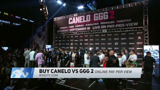 Watch LIVE! Canelo vs. GGG 2 official weigh-in: Friday, Sept. 14 at 5:30pm ET/2:30pm PT