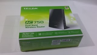 TP-Link Archer C20i AC 750 Dual Band Wireless Router - Unboxing & Setup