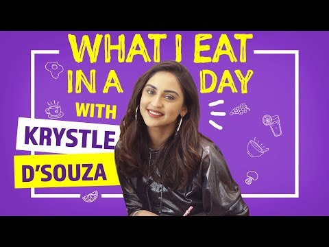 Krystle D'souza - What I Eat in a Day   Sukhe - I Need Ya   Pinkvilla   Fashion   Lifestyle
