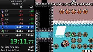 Wario Land 2 - Main Story Glitchless Speedrun in 35:03 [Current World Record]