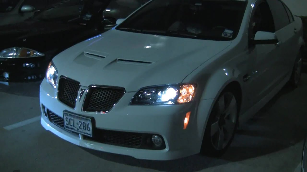 2009 pontiac g8 gt new era custom cam grind youtube