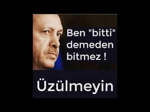 Recep Tayyip Erdoğan Şiir, Ben Bitti Demeden Bitmez Üzülmeyin