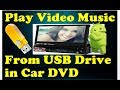 PLAY VIDEO FROM USB ON CAR Stereo DVD Player ✔ | Dash DVD systems(Pioneers, JVC, Kenwood)| GET SMART