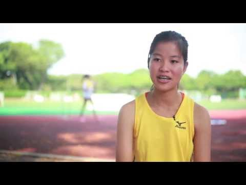 VJC's Track and Field star Clarice lists her mother as her source of inspiration