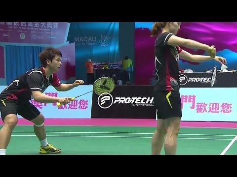 |SF| Match 5 Macau Open Badminton Championships 2014
