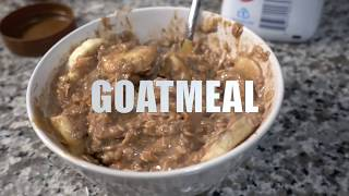 How to Make Muscle Building High Protein Oatmeal in 60 Seconds!
