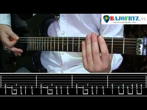 Jak Zagrać Na Gitarze: Metallica - Enter Sandman By Bajo