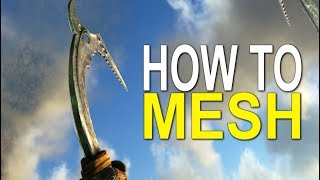 HOW TO MESH IN ARK (WHY ARK IS DYING)