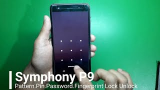 Symphony P9 Screen Lock Unlock