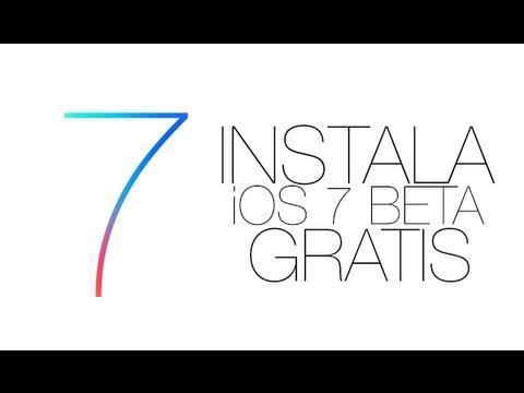 NUEVO Instala iOS 7 GM (GOLDEN MASTER) GRATIS! sin UDID y sin ser desarrollador de Apple