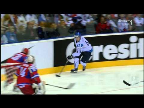 Eishockey WM 2011 - Mikael Granlund Tor - Finnland vs. Russland 1:0
