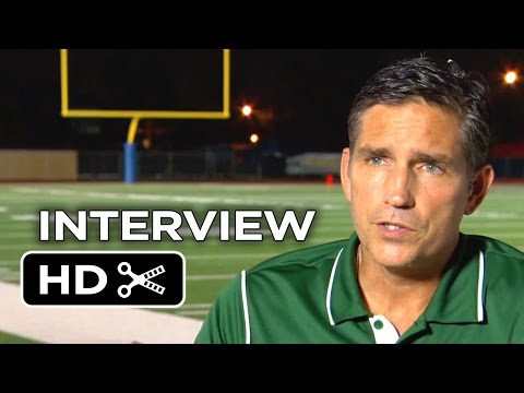 When The Game Stands Tall Interview - Jim Caviezel (2014) - Inspirational Sports Movie HD