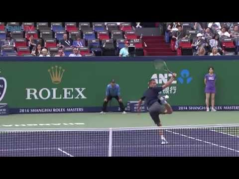 Feliciano Lopez Hits Shanghai Hot Shot Against Youzhny