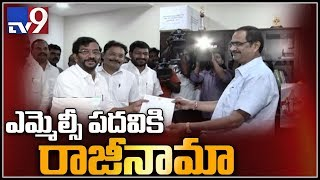 TDP Somireddy Chandramohan Reddy resigns for MLC to contest as MLA
