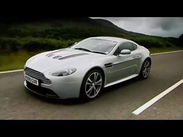 Aston Martin Vantage - Top Gear - BBC - YouTube
