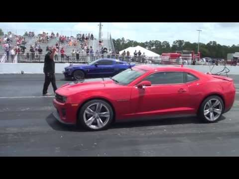 2013 Camaro ZL1 vs 2013 Shelby GT500