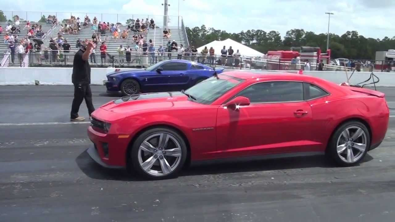 2017 Shelby Gt500 >> 2013 Camaro ZL1 vs 2013 Shelby GT500 - YouTube