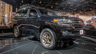The 2020 Toyota Land Cruiser Heritage Edition oozes old school cool