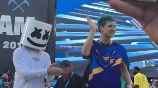 Fortnite Celebrity Pro AM Vlog w/ Ninja, Marshmello, Myth, Ali-A, Pokimane and MORE!