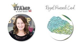 Stampin' Up! Royal Peacock Card