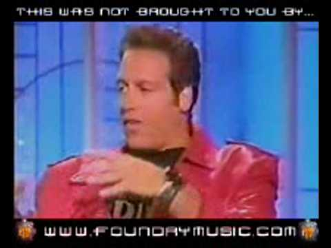 Andrew Dice Clay cries a little (Maybe he heard his act?)