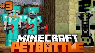 LARS und ISY JAGEN MICH (1.FINALE)?! - Minecraft PETBATTLE #3 [Deutsch/HD]