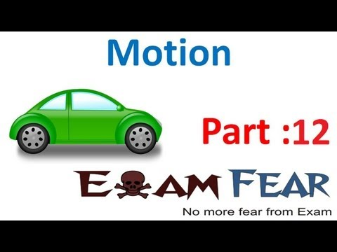 Physics Motion part 12 (Equation of motion) CBSE class 9 IX