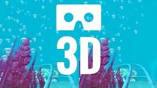 3D SBS VR Box Roller Coaster Underwater POV Ride Google Cardboard not 360