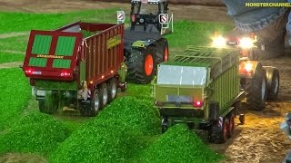 RC tractor action in 1:32 scale! R/C Miniature farming at Hof Mohr!