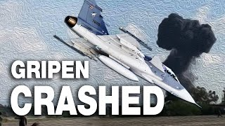 Thailand Gripen Fighter Crash