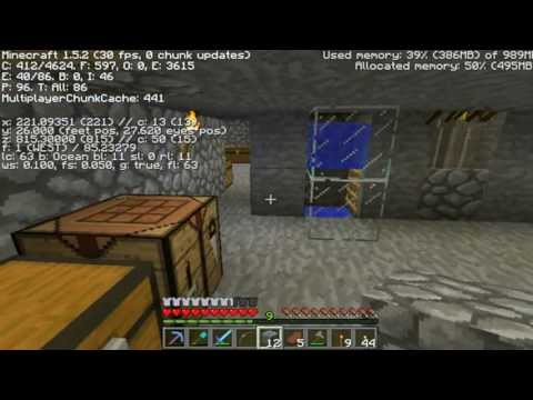 Let's Play Minecraft with CraftyKS episode 4- The skeleton spawner