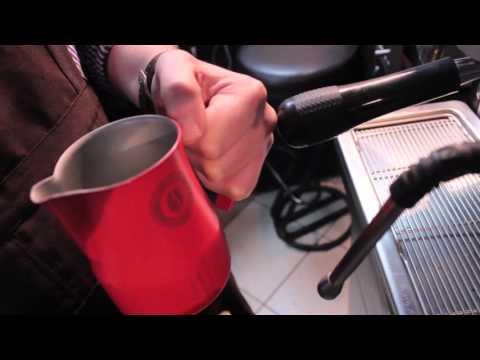 Как Взбивать Молоко - КАПУЧИНО ! ( New! ) / How to Froth Milk - CAPPUCCINO ! (New!)