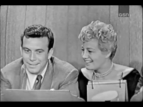 What's My Line? - New opening! - Tony Franciosa & Shelley Winters; M. Gabel [panel] (Jul 14, 1957)