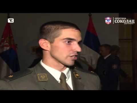 Александар Боровчанин, добитник Златне сабље Војске Републике Србије