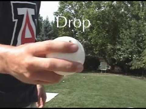 How to Throw Wiffleball Pitches