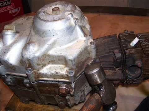 Honda CT70 Z50 Motor