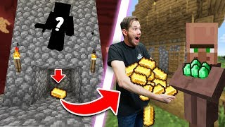 Building A Gold Farm In Hardcore Mode! | Minecraft