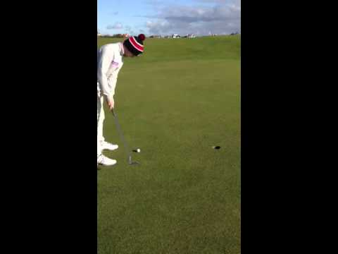 Crazy Putt 9th Hole Elie -you Gotta Be Kidding Me ! video