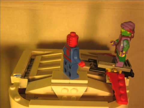 LEGO amazing spiderman ep.7 rise of the green goblin