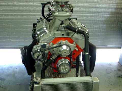 Big Block Chevy 427 With A Lwp 1 Quot Wide Cog Belt Amp My New