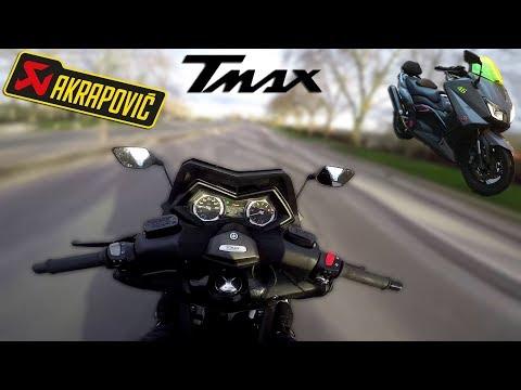 TEST TMAX 530 Akrapovic