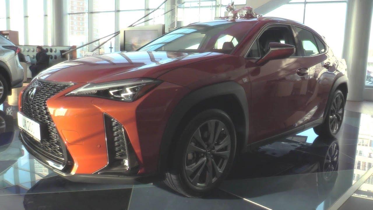 2019 Lexus UX 200 F-Sport. Обзор (интерьер, экстерьер, двигатель).