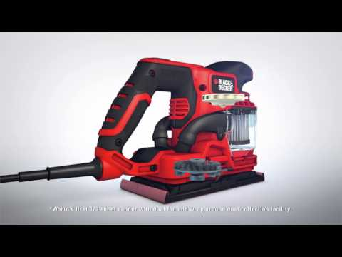 Black & Decker® Duosand™ - CLEANER, FASTER sanding