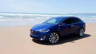 We Took the Tesla Model X on a Road Trip. Here