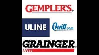 Applying for Vendor Credit. APPROVED for Uline, Quill, Grainger and Gemplers 1st Order!!