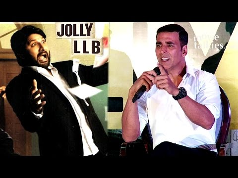 Akshay Kumar's BEST Reply To Reporter Comparing Jolly LLB 2 To Arshad Warsi's Jolly LLB
