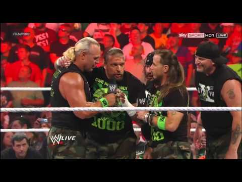 Dx Returns! - Wwe Raw 23 07 12 (hd) video