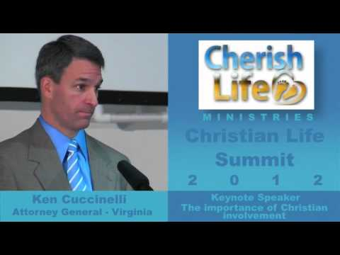 Ken Cuccinelli at Christian Life Summit 2012